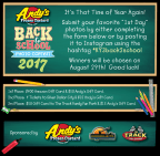 Back to School Photo Contest 2017