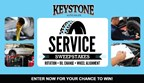 Keystone Auto Sales Service Package Sweepstakes
