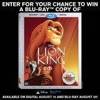 MH - The Lion King DVD Giveaway