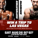 Mayweather vs. McGregor Email #3 8/13 8am EST