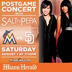 MH- Marlins Spectacular Salt N Pepa 7/23-7/30