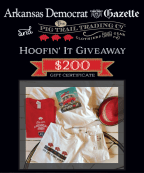 Hoofin' It Giveaway