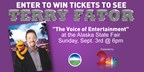 Win Tickets to See Terry Fator at the Alaska State Fair!