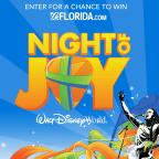 WFTV 2017 Disney's Night of Joy Sweepstakes