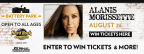 Alanis Morissette Concert Sweepstakes
