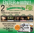 Evergreen State Fair Enter to Win contest