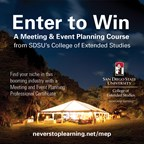 Win an SDSU Meeting & Event Planning Course