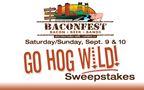 Baconfest GO HOG WILD VIP sweepstakes!