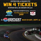 Win 4 Tickets to Kentucky Speedway!