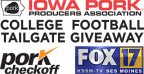 Iowa Pork College Football Tailgate Giveaway