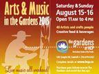 Art & Music in the Gardens