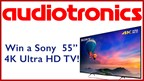 Audiotronics 4K TV Giveaway