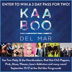 Enter to Win KaaBoo 3 Day Passes
