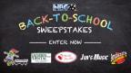 NBC26 Back-to-School Sweepstakes