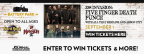 Five Finger Death Punch Concert Sweepstakes