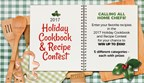 2017 Holiday Cookbook and Recipe Contest