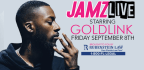 JAMZ LIVE starring Goldlink