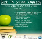Back To School Contest 2015