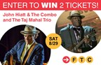 John Hiatt & The Combo and the Taj Mahal Trio