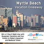 Myrtle Beach Vacation Giveaway