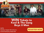 Kentucky State Fair Boyz II Men Ticket Giveaway
