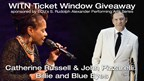 Catherine Russell & John Pizzarelli Ticket Giveaway