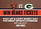 Bears Ticket Giveaway