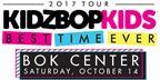 Kidz Bop Ticket Giveaway