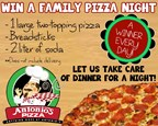 Antonio's Family Pizza Giveaway