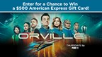 FOX 11's The Orville Premiere Giveaway
