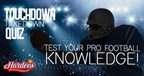 Touchdown Takedown Quiz by Hardees