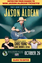 Jason Aldean Ticket Giveaway