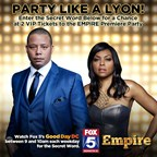 FOX 5 EMPIRE PREMIERE PARTY GIVEAWAY