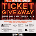 Fall Entertainment Ticket Giveaway