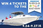Win Family 4-Pack to Norwalk Boat Show