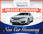 Southern Motors Acura Grand Opening New Car Giveaway