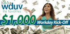 $1,000 Workday Kick-Off BONUS