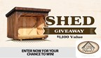 GB Sheds Giveaway