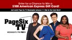 FOX 11's Page Six TV Premiere Giveaway!