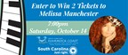 Enter to Win 2 Tickets to Melissa Manchester!