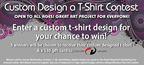 Custom Design a T-shirt Contest