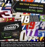 Kansas Speedway Racing Quiz