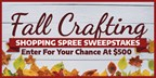 Fall shopping spree sweepstakes (FB)