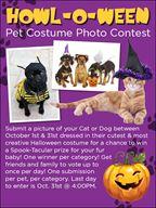 Cutest Pet Costume Photo Contest
