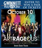 Win tickets to Artrageous