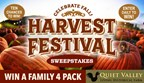 Harvest Festival Sweepstakes