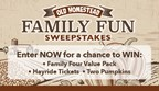 Old Homestead Family Fun Sweepstakes