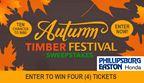 Autumn Timber Festival Sweepstakes
