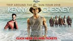 Win tickets to the Kenny Chesney Trip Around the Sun Tour 2018!
