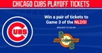 Cubs Sweepstakes